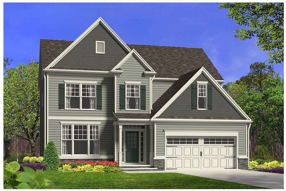 Royal Oaks Stonehenge Manors The Lilac 1198326 Raleigh Nc New Home For Sale Homegain