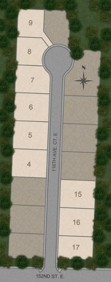 Unifamiliar por un Venta en The Noble 15028 116th Ave Ct E Puyallup, Washington 98374 United States