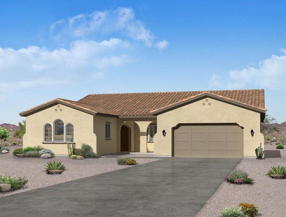 Single Family for Active at Sonoran Ridge Estates - The Chaucer 19207 W. Echo Lane Waddell, Arizona 85355 United States