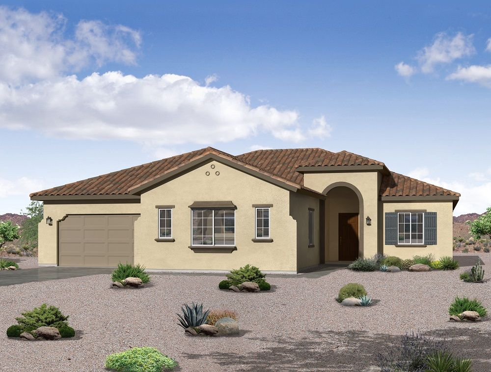 Single Family for Active at Sonoran Ridge Estates - The Joyce - Phoenix 19207 W. Echo Lane Waddell, Arizona 85355 United States