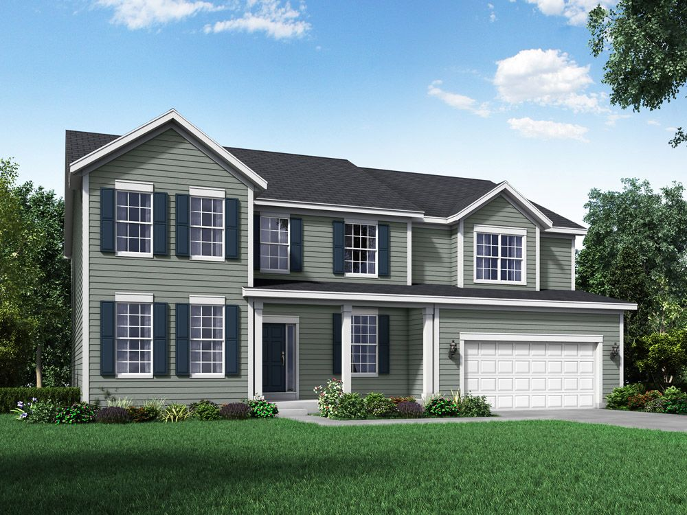 Single Family for Sale at Hampshire Highlands - Jensen Ii 442 Zachary Drive Hampshire, Illinois 60140 United States