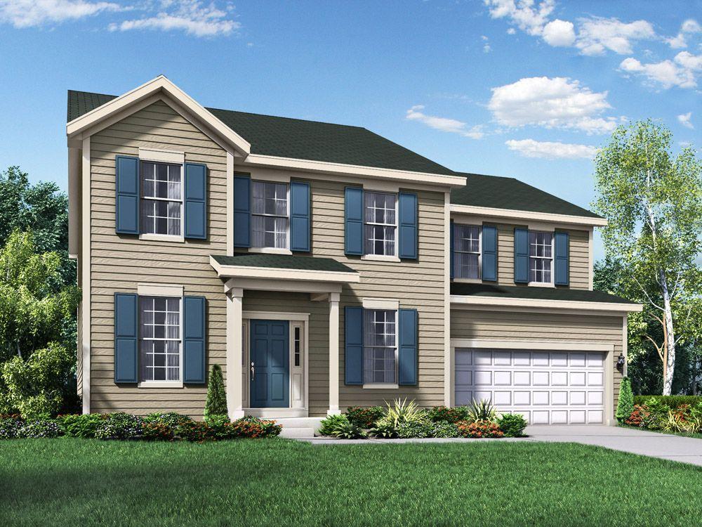 Single Family for Sale at Hampshire Highlands - Jefferson Ii 442 Zachary Drive Hampshire, Illinois 60140 United States
