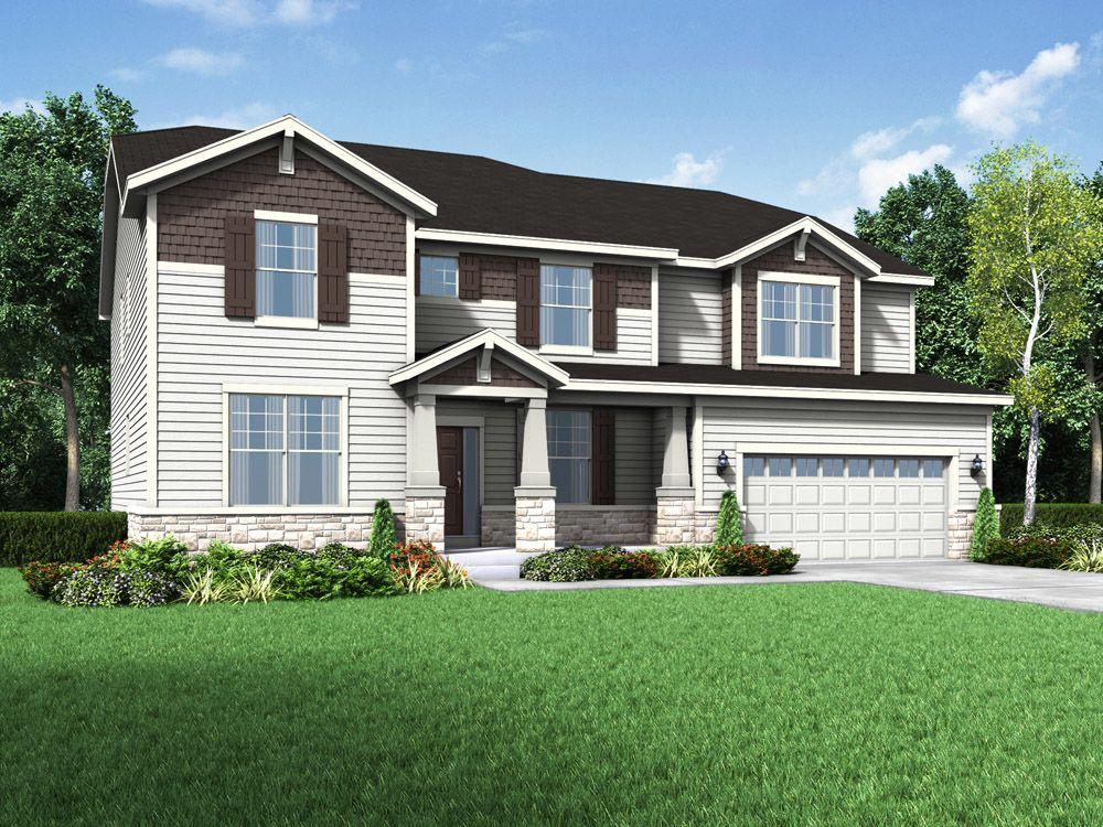 Single Family for Active at Stonebridge - The Jensen Ii - Stonebridge 119 Hubbard Lane Hawthorn Woods, Illinois 60047 United States