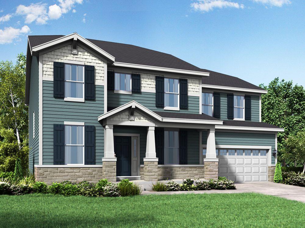 Single Family for Active at Stonebridge - The Jefferson Ii - Stonebridge 119 Hubbard Lane Hawthorn Woods, Illinois 60047 United States