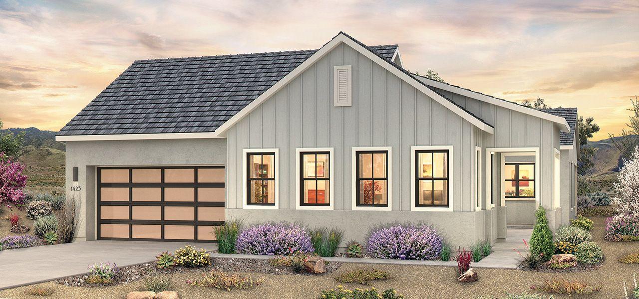 单亲家庭 为 销售 在 The Pointe At Somersett - Plan 1 1673 Huntley Trail Road Reno, Nevada 89523 United States