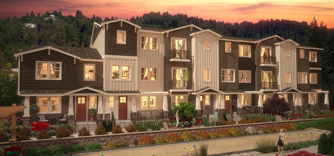 Multifamiliar por un Venta en Cove - Scotts Valley - Plan A (Bmr) 201 Cove Lane Scotts Valley, California 95066 United States