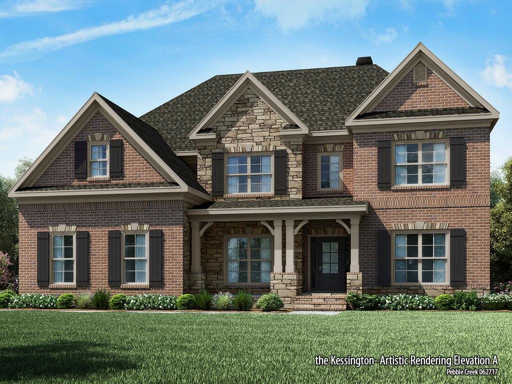 Single Family for Sale at Pebble Creek - Kessington-Pc 1413 Grovebrook Lane Watkinsville, Georgia 30677 United States
