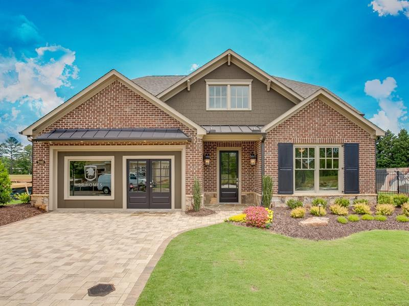 Single Family for Sale at Burchfield-Cp 2010 Creekstone Point Drive Cumming, Georgia 30041 United States