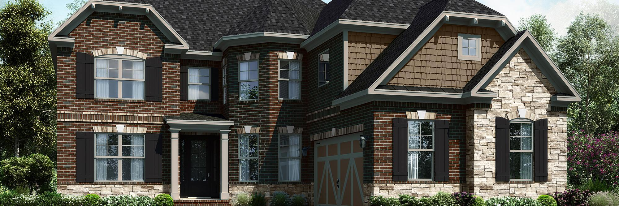 Single Family for Active at Hartford-Wb 2020 Shoal Crest Way Cumming, Georgia 30041 United States