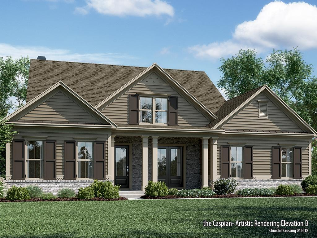 Single Family for Active at Churchill Crossing - Caspian-Chc 4970 Shade Creek Crossing Cumming, Georgia 30028 United States