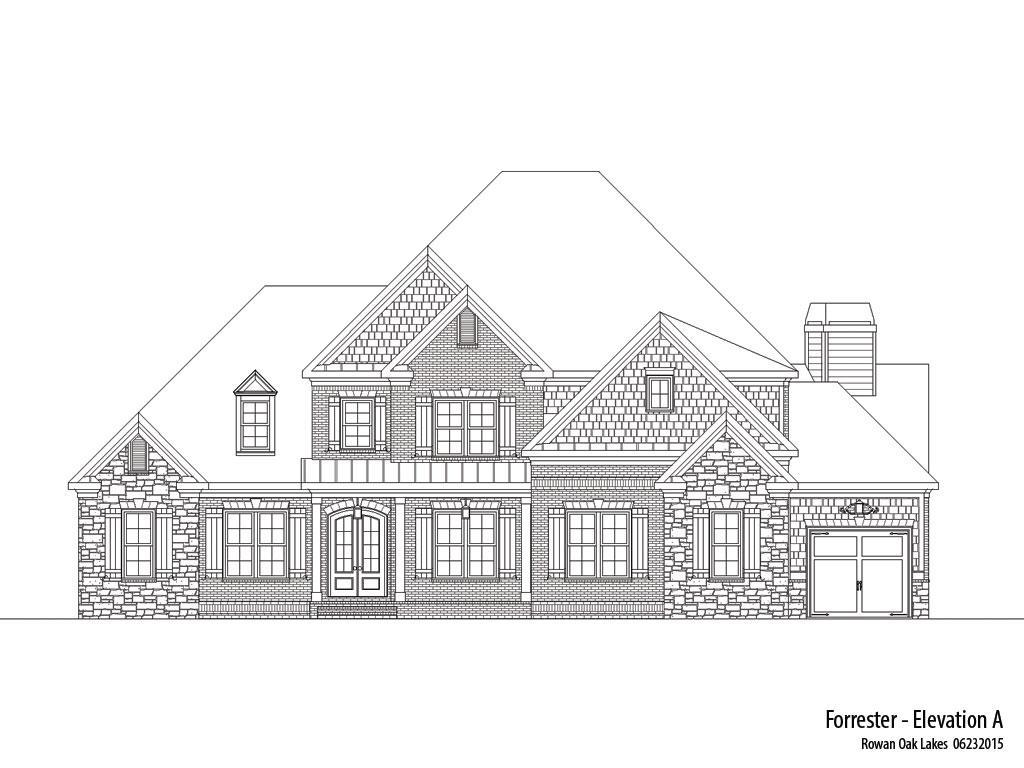 Single Family for Active at Rowan Oak - Forrester-Rol 1331 Cambridge Square Watkinsville, Georgia 30677 United States