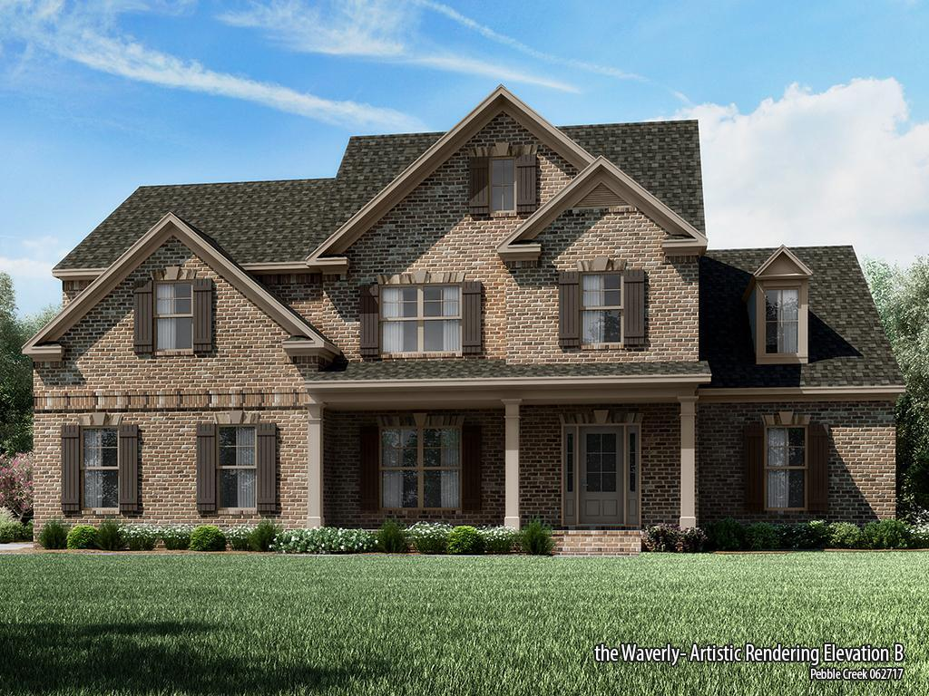 Single Family for Sale at Pebble Creek - Waverly-Pc 1413 Grovebrook Lane Watkinsville, Georgia 30677 United States