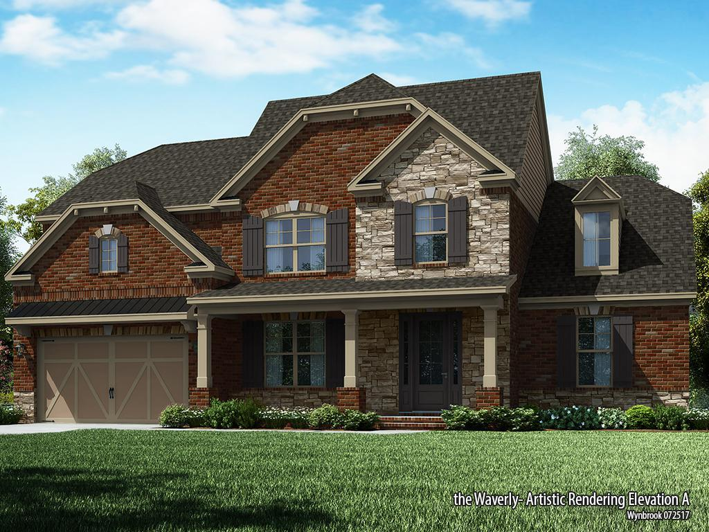 Single Family for Sale at Wynbrook - Waverly-Wb Old Atlanta Rd And Gilbert Rd Cumming, Georgia 30041 United States