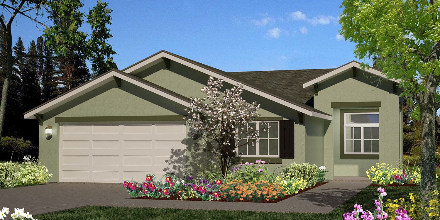 Crestview meadows new homes in bakersfield ca by s s homes for Bakersfield new home builders