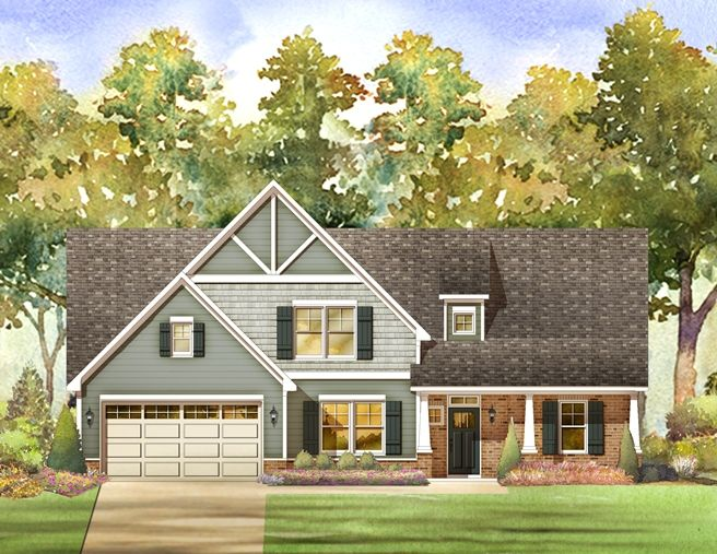 Single Family for Sale at The Oaks At Ironwood - Carpenter 3841 Ironwood Dr. Franklinton, North Carolina 27525 United States