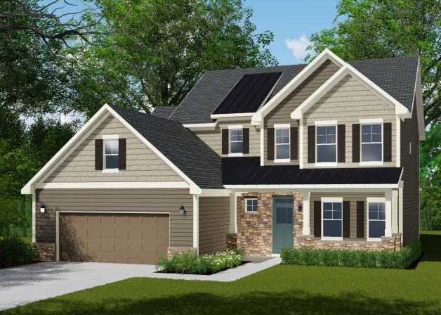 Savvy homes patterson woods massey 1390911 youngsville for Patterson woods