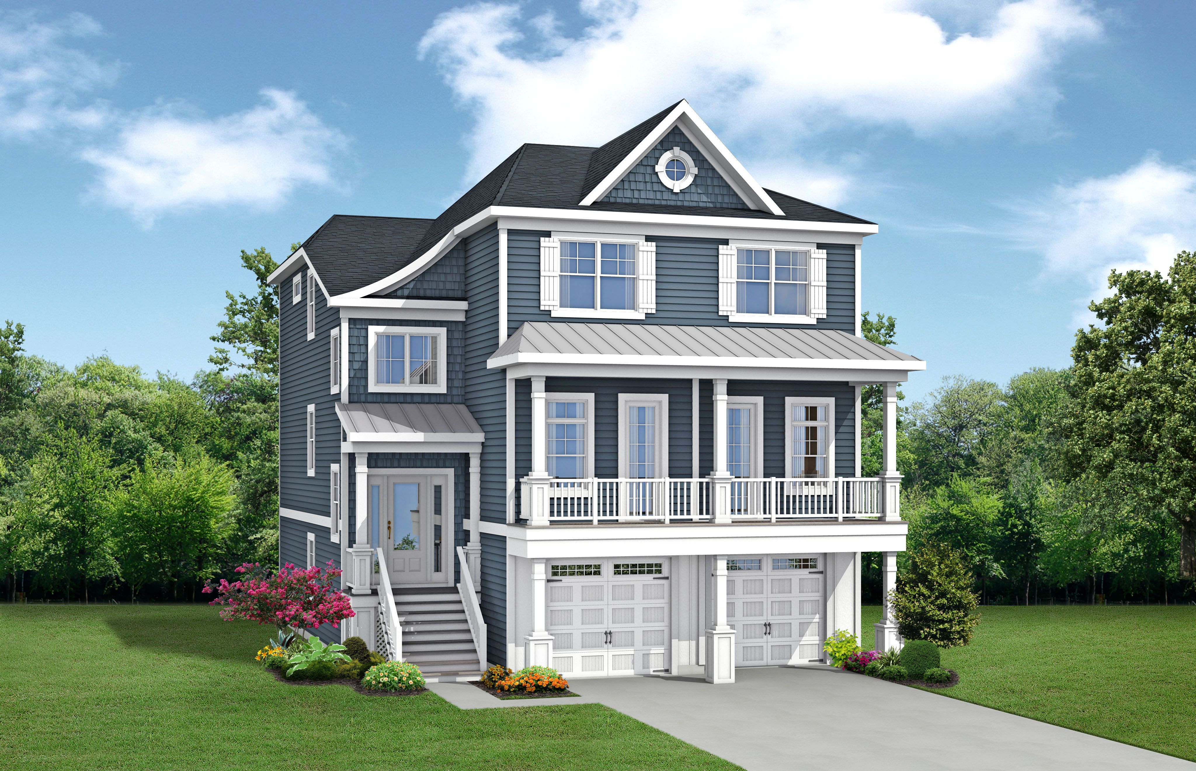 Single Family for Active at Bayside - The Antigua 20811 Harbor Cove Selbyville, Delaware 19975 United States