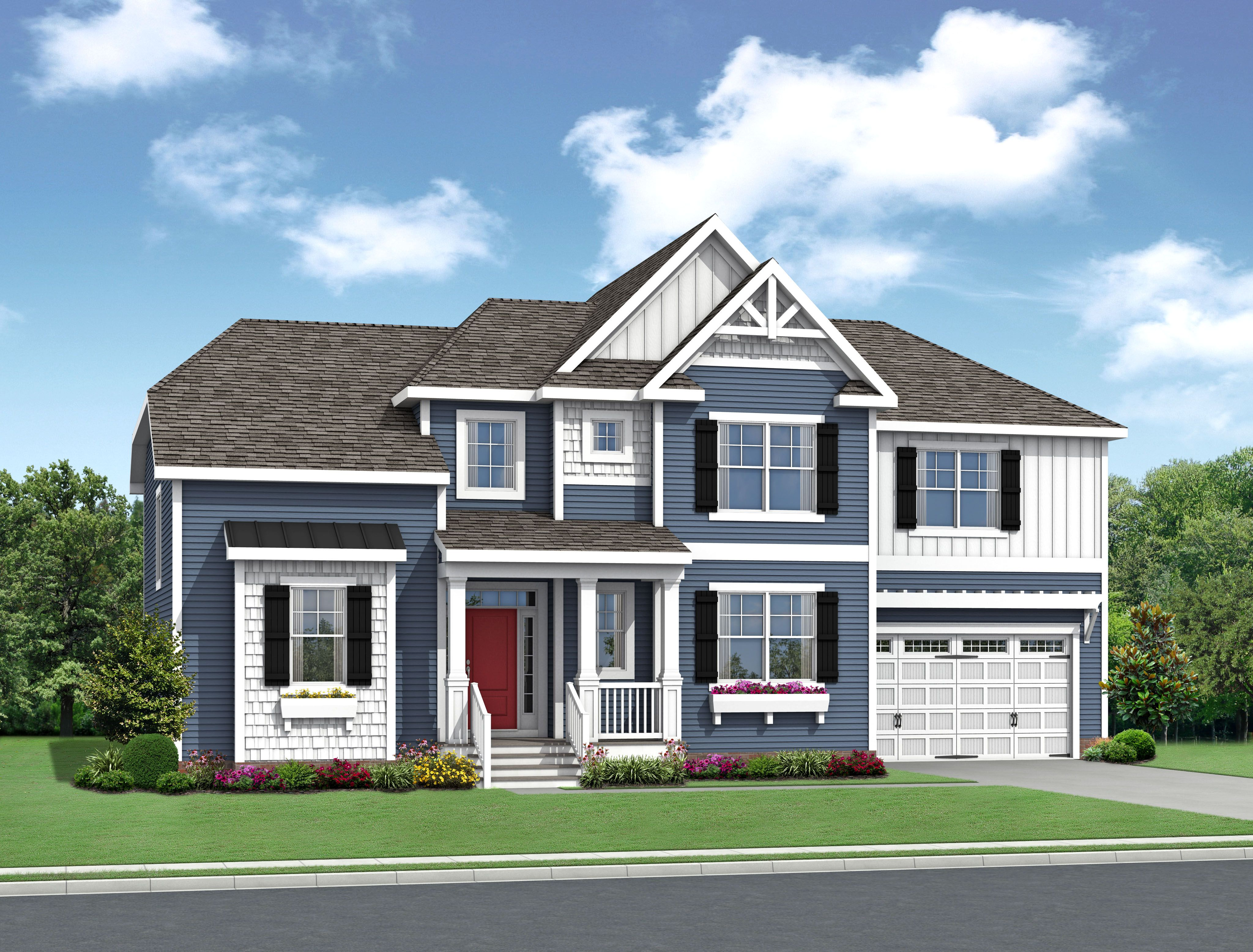 Single Family for Active at Showfield - The Bridgeport 18264 Show Jumper Lane Lewes, Delaware 19958 United States