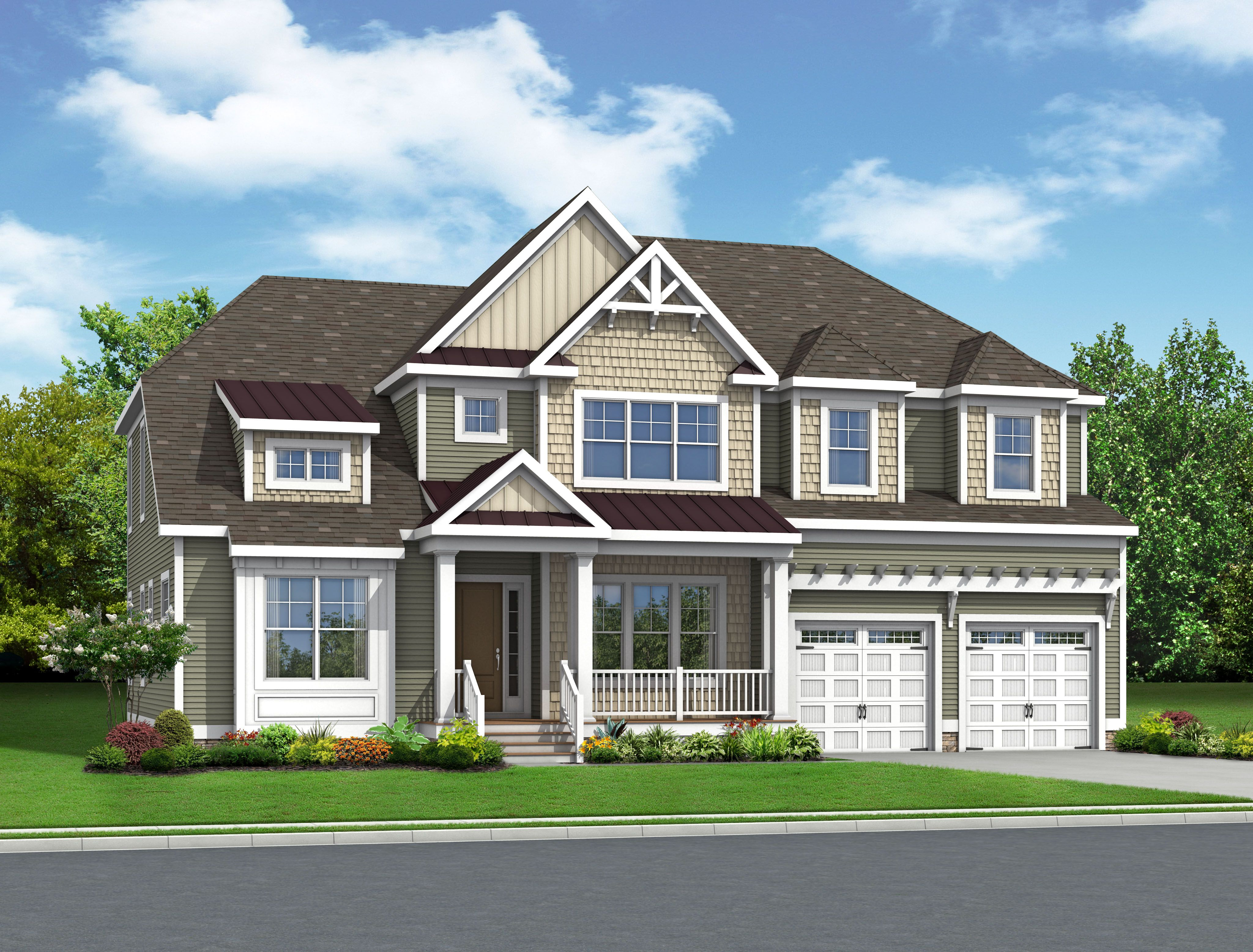 Single Family for Active at Bayside - The Carnegie 20811 Harbor Cove Selbyville, Delaware 19975 United States