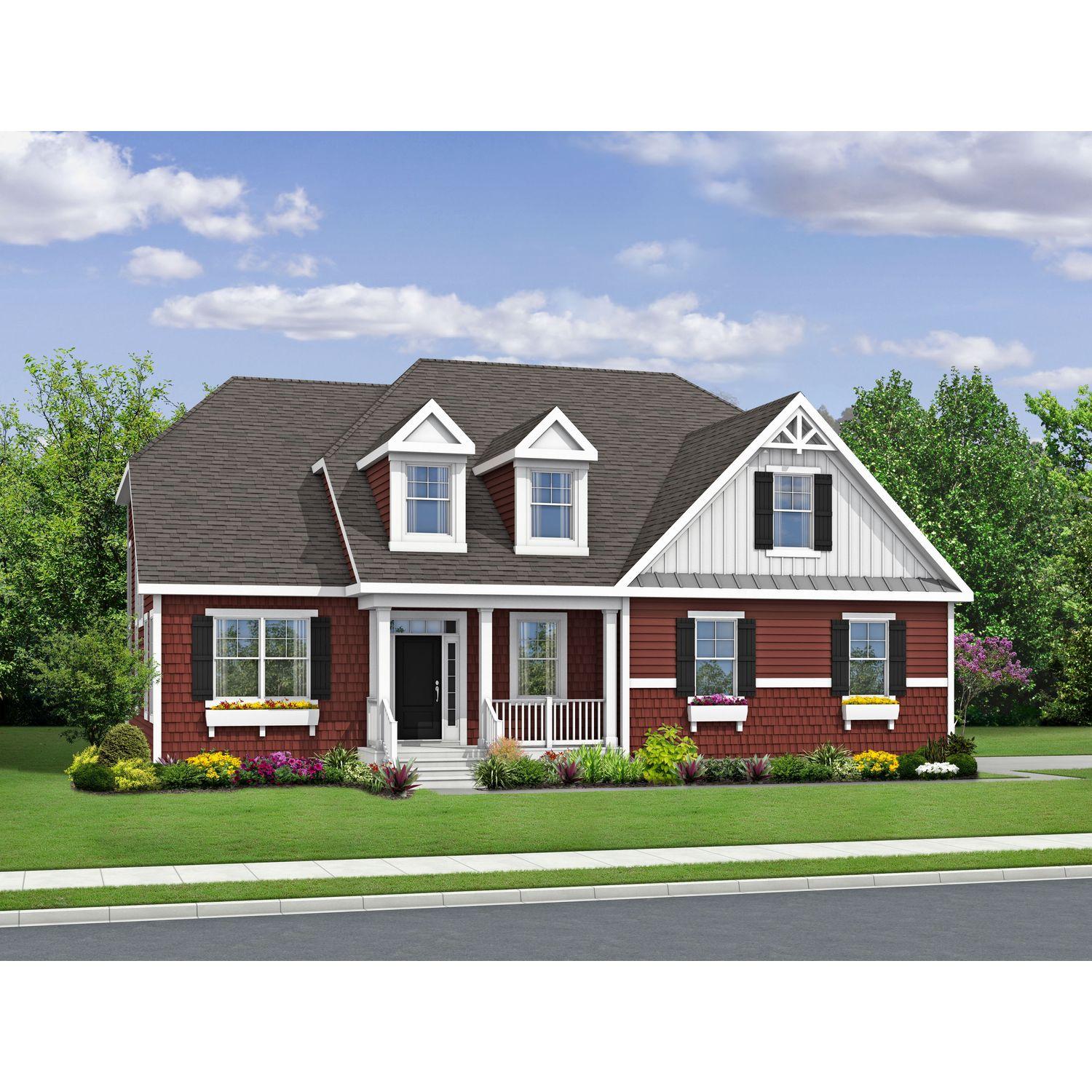 Single Family for Sale at The Shearwater 15924 Garston Lane Midlothian, Virginia 23114 United States