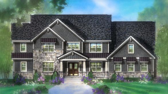 单亲家庭 为 销售 在 Cleveland-Akron Design Studio - Build On Your Lot - Deephaven 779 White Pond Drive Akron, Ohio 44320 United States