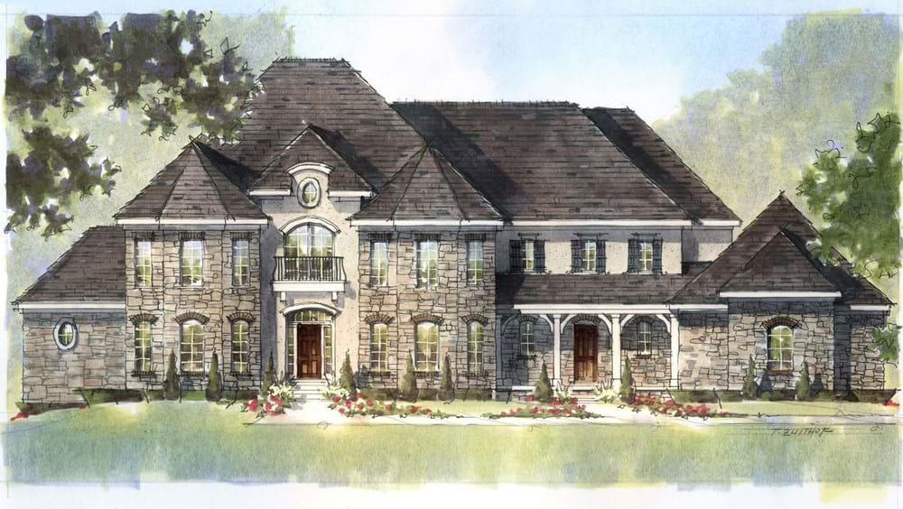 Single Family for Active at Raleigh-Durham Design Studio-Build On Your Lot (Rocky Mount) - Fieldstone Rocky Mount, North Carolina 27801 United States