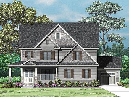 Single Family for Active at Seaforth Landing - The Jonesville 39 Lakes Edge Lane Pittsboro, North Carolina 27312 United States
