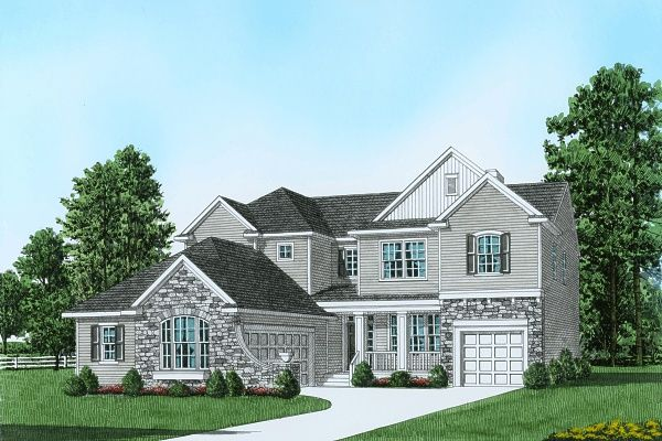 Single Family for Sale at Riverview Estates - Plan 4 Traditional Series 2749 Sheffield Drive Easton, Pennsylvania 18040 United States