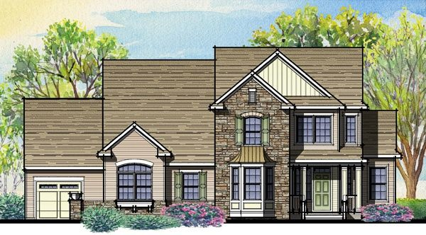 Unifamiliar por un Venta en Riverview Estates - Plan 7a Traditional Easy Living Series 301 Newlins Road East Easton, Pennsylvania 18040 United States