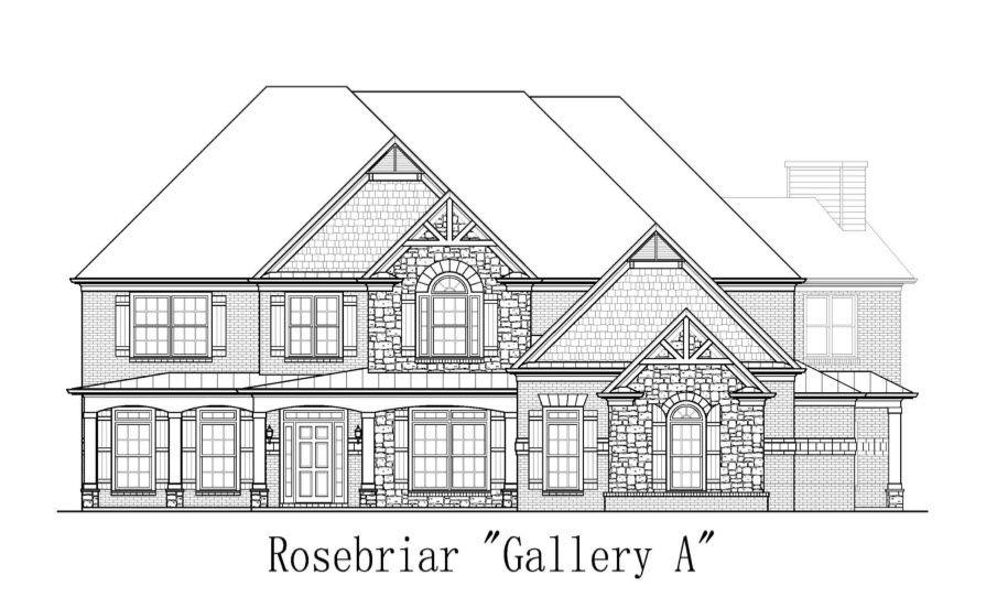 Ensam Familj för Försäljning vid Windfaire - Rosebriar Eves Cir Roswell, Georgia 30076 United States