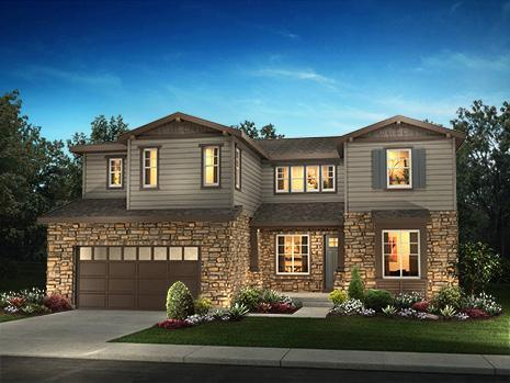Single Family for Sale at Whispering Pines - Woodlands Collection - 5215 - Bristlecone 8002 S. Haleyville Way Aurora, Colorado 80016 United States