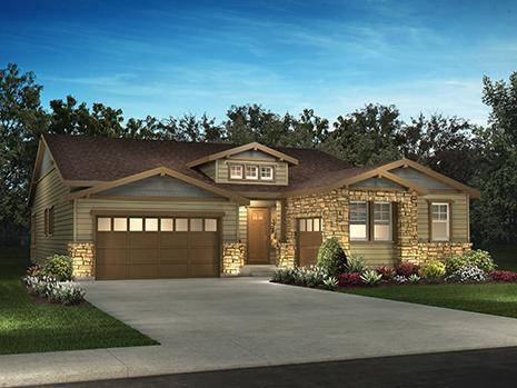 Single Family for Sale at Whispering Pines - Woodlands Collection - 5223 - Coulter Pine 8002 S. Haleyville Way AURORA, COLORADO 80016 UNITED STATES
