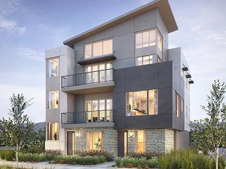 Single Family for Sale at The District - Avenues- Residence 03 19530 Prairie Street Northridge, California 91324 United States