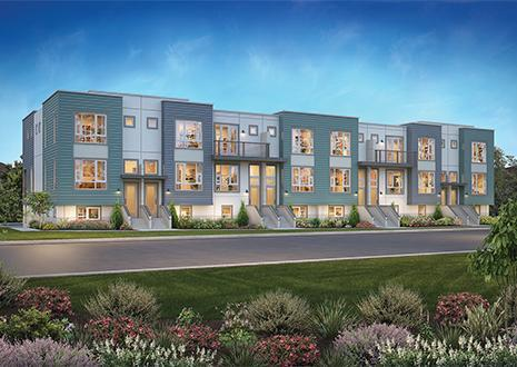 Multi Family for Sale at Meadow Walk - Meadow Walk Plan 2 405 Neves Road San Mateo, California 94403 United States