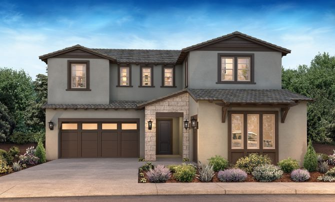 Single Family for Active at Lark Hill - Plan 3 1989 Old Vine Place Brentwood, California 94513 United States