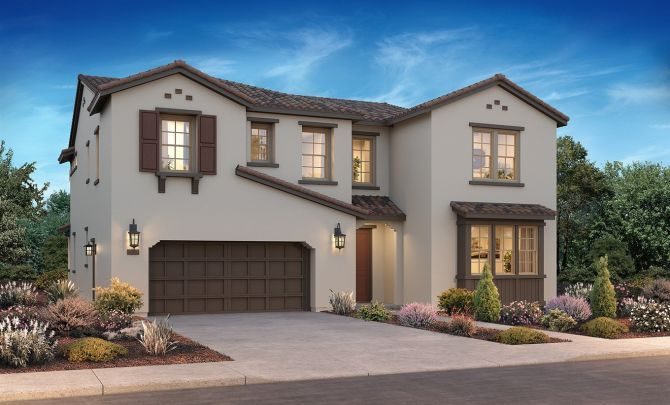 Single Family for Active at Ashford At Mountain House - Plan 2 1119 Vecindad Street Mountain House, California 95391 United States