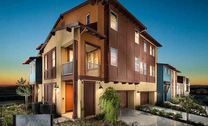 Single Family for Active at Harmony At Sage - Plan 8 103 Tranquility Circle Livermore, California 94551 United States