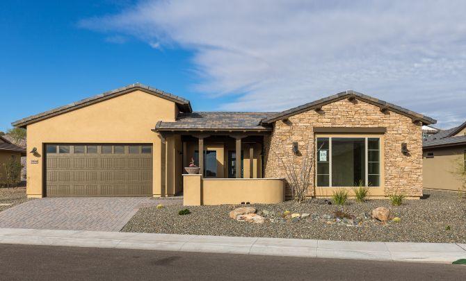 Single Family for Active at Latigo 3886 Ridge Runner Way Wickenburg, Arizona 85390 United States