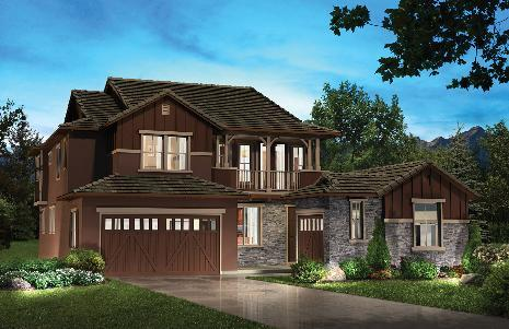 Single Family for Sale at Backcountry - Water Dance Collection - 5013 - Moonshadow 90 Sandalwood Way Highlands Ranch, Colorado 80126 United States