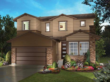 Single Family for Sale at Stepping Stone - Spaces Discovery Collection - Plan 4006 11111 Watermark Avenue Parker, Colorado 80134 United States