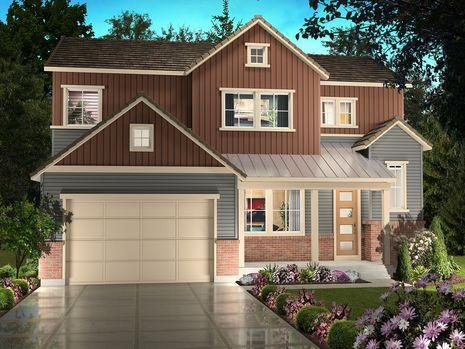 Additional photo for property listing at Stepping Stone - Spaces Discovery Collection - Plan 5002 11111 Watermark Avenue Parker, Colorado 80134 United States