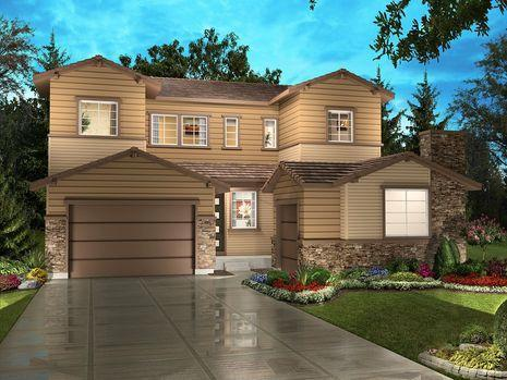 Single Family for Sale at Stepping Stone - Spaces Discovery Collection - Plan 5004 11111 Watermark Avenue Parker, Colorado 80134 United States