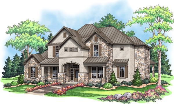 Single Family for Sale at Sierra Classic Custom Homes- Build On Your Lot- Austin - The Victoria 9660 E Hwy 71 Spicewood, Texas 78669 United States