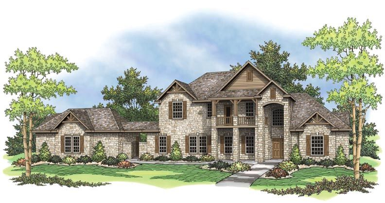 Single Family for Sale at Sierra Classic Custom Homes- Build On Your Lot- Austin - The Richmond 9660 E Hwy 71 Spicewood, Texas 78669 United States