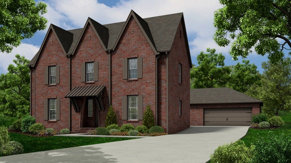 Single Family for Sale at Nature's Cove - The Thomas Old World 1 2704 Natures Trail Owens Cross Roads, Alabama 35763 United States