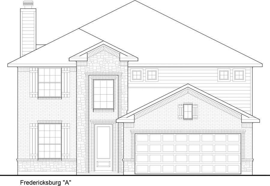 Single Family for Sale at Commons Of Lake Houston - Fredericksburg 1013-1099 Commons Vista Dr Huffman, Texas 77336 United States