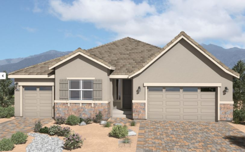 Single Family for Active at Sky Ridge - Plan 7 1682 Cantinia Drive Sparks, Nevada 89436 United States