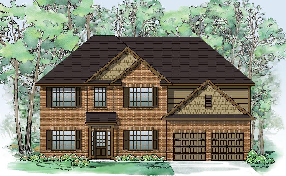 Один семья для того Продажа на Westbrook Creek - The Brookhaven 27 Allgood Trace Oak Grove, Georgia 30101 United States