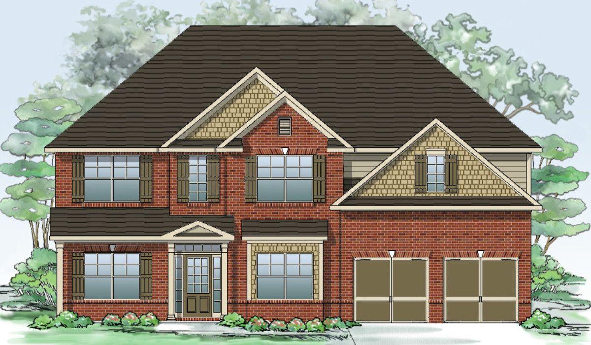 Один семья для того Продажа на Westbrook Creek - The Richmond 27 Allgood Trace Oak Grove, Georgia 30101 United States