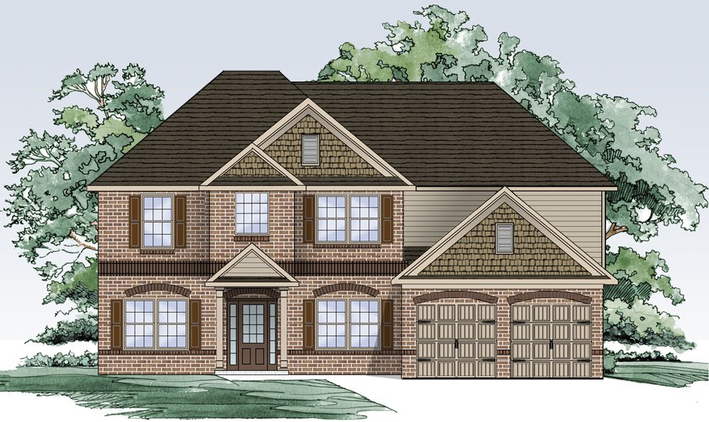 Single Family for Active at The Park At Westridge - The Dewhurst 2405 Braelin Loop Mc Donough, Georgia 30253 United States